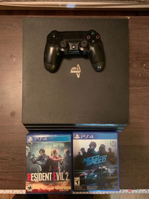 PS4 with games for Sale in Los Angeles, CA