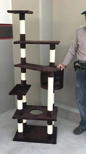 Brand new large cat tree tower condo house scratcher for Sale in Pico Rivera, CA