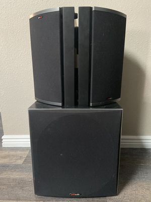 Polk Audio Home Theatre Speakers and Subwoofer for Sale in Denver, CO