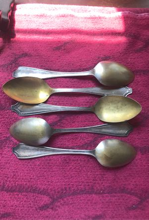 Sheffield Plate Spoons for Sale in Burtonsville, MD
