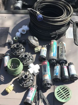 Misc sprinkler heads and soakers for Sale in Winchester, CA