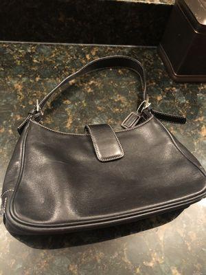 Coach black leather handbag for Sale in Walled Lake, MI