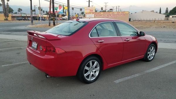 2005 Acura Red TSX 🔺️PART OUT!!🔺️ K24A2 OEM Stock 04-08 Parts