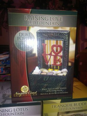 RAINING LOVE LED FOUNTAIN BRAND NEW for Sale in New Ringgold, PA