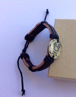 Cancer Bracelet Zodiac Real Leather for Sale in Denver, CO
