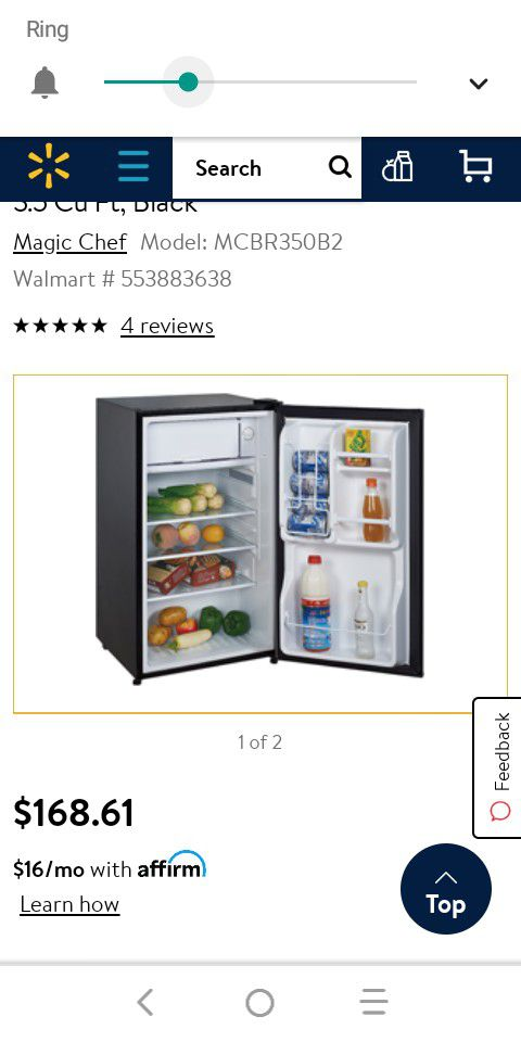 ( $65 or best offer. )...Used fridge ...working condition