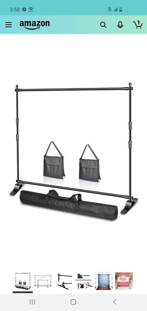 10x8ft backdrop stand for Sale in St. Petersburg, FL