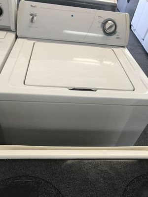 Whirlpool Top Load Washer And Dryer Set Good Condition Working Good With Warranty for Sale in Oxon Hill, MD