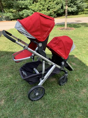 Vista Uppababy Double Stroller for Sale in Franklin, TN