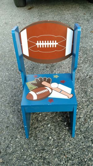 Child's Sports wooden step stool for Sale in Freedom, PA