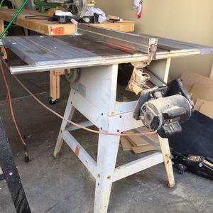 Rigid Table Saw for Sale in El Mirage, AZ