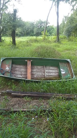 9' row boat aluminum for Sale in Apopka, FL
