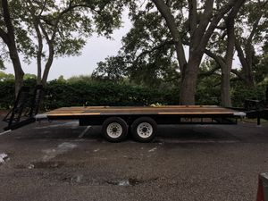 Double axel trailer for Sale in Palm Harbor, FL