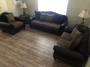 Leather Sofa's for Sale in Victorville, CA