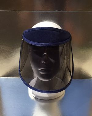 Tinted blue visor face shield for Sale in Chino, CA