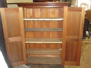 Fantastic Vintage Storage Cabinet - Delivery Available for Sale in Tacoma, WA