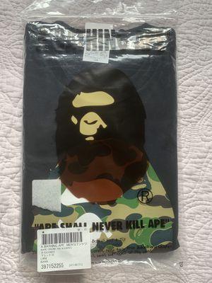 Bape Ape Head Camo Tee for Sale in Federal Way, WA