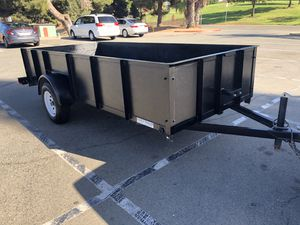 Utility Trailer 12x5 and 2' foot deep for Sale in National City, CA