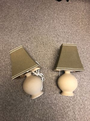 Lamps with shades for Sale in Traverse City, MI