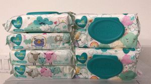 6 bags of Pamper Sensitive convenient TO GO packs diaper wipes, total $10 for Sale in Daly City, CA