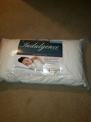 Indulgence Side Sleeper Pillow by Isotonic 36x20 King for Sale in Indianapolis, IN