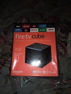 Fire TV cube for Sale in Maynard, MA