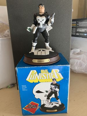 Marvel Collection Punisher statue for Sale in Vacaville, CA