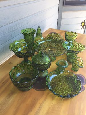 THUMB PRINT GLASS 1960's for Sale in Payson, AZ