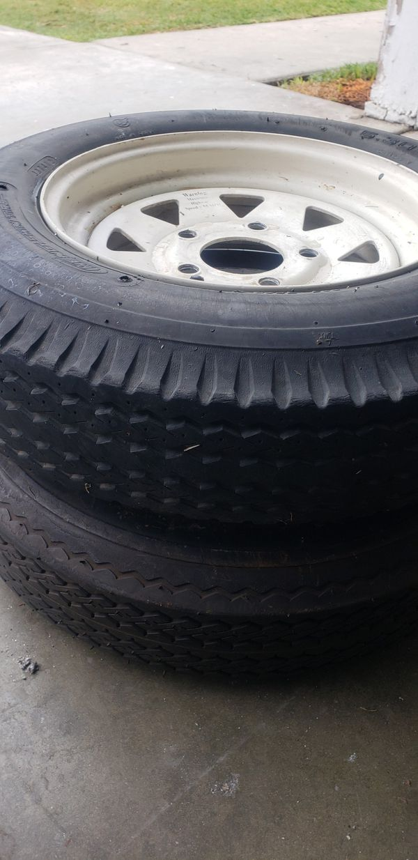 HENGT SHIN 3 TIRES FOR TRAILER 5/30/12 SEMI NEW