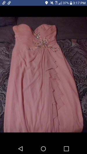 Long blush dress for Sale in Bartow, FL