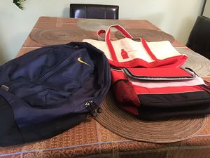 Backpack, Cooler, Tote for Sale in Houston, PA
