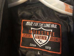 Interstate leather waist fringe jacket for Sale in Pflugerville, TX