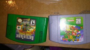 2 vintage nintendo 64 games and 1 super snes game ..... for Sale in North Lawrence, OH