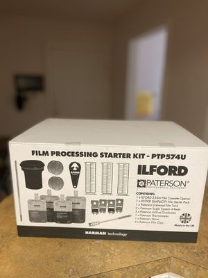 ILFORD & PATERSON FILM PROCESSING STARTER KIT (PTP574) for Sale in Arlington, TX
