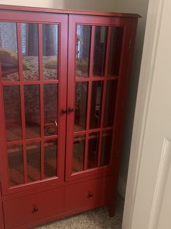 RED STORAGE Cabinet for Sale in Katy,  TX