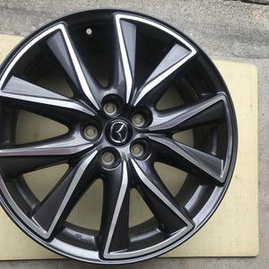 2016-2018 Mazda CX-5 19 Inch Gun Metal Rims -Pristine Condition for Sale in South San Francisco, CA
