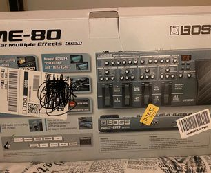 Boss Multiple Effects Guitar Pedal 🎸 for Sale in Rockville,  MD