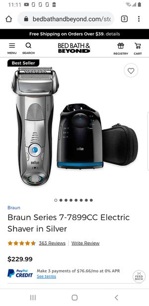 BRAUN SERIES 7 Smart Shaver. Made in Germany for Sale in Fort Worth, TX