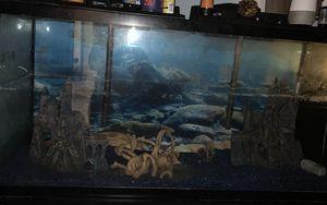 Fish tank 55gl for Sale in Hialeah, FL