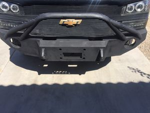 Steel Off road Chevy avalanche front & rear Bumpers for Sale in Surprise, AZ
