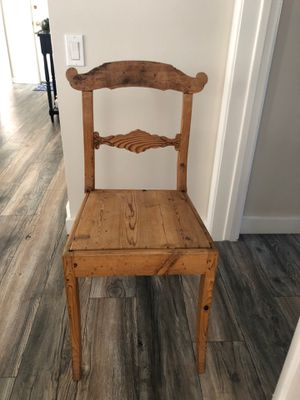 Antique wood chair for Sale in Alhambra, CA