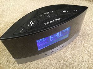 LCD white noise maker & alarm clock for Sale in San Leandro, CA