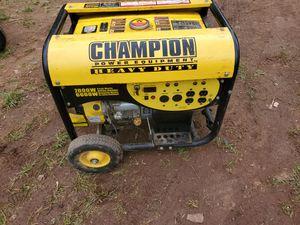 Champion generator 7000 watt for Sale in Frederick, MD