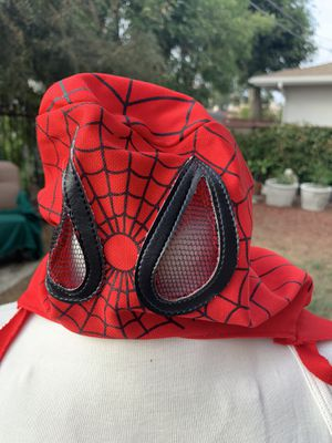 Spider-Man mask and cape for Sale in Monterey Park, CA
