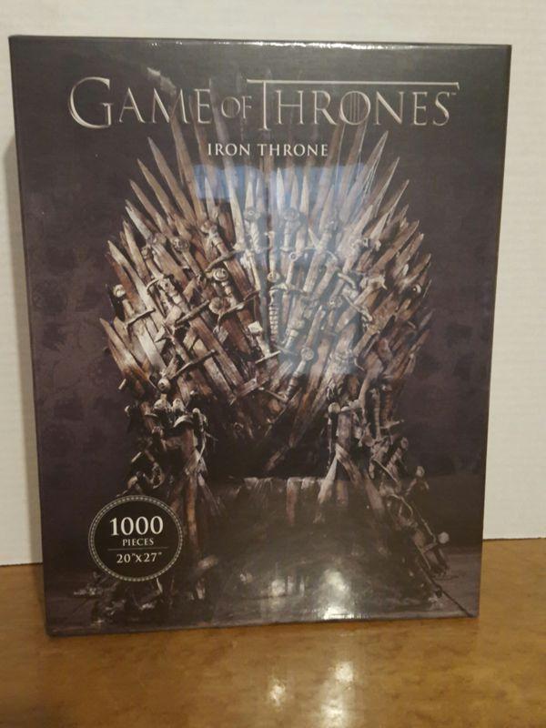 Game of Thrones iron thron puzzle