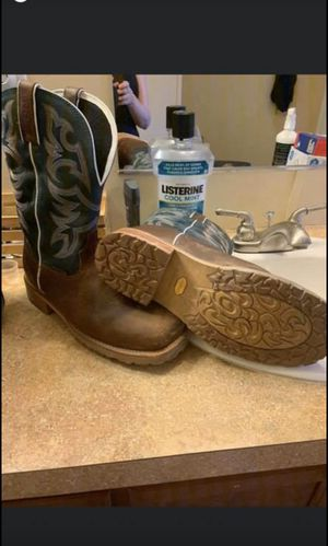 Work boots for Sale in Fletcher, OK
