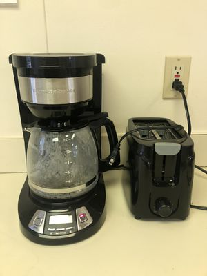 Cofffee maker and toaster for Sale in Anaheim, CA
