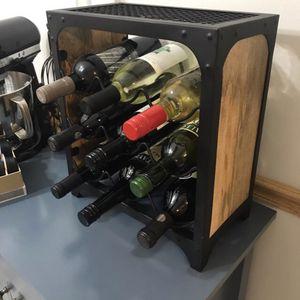 Nine bottle wine rack for Sale in Addison, IL