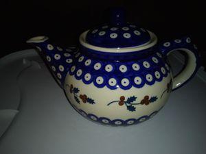 Large Polish pottery tea pot. for Sale in Milton, FL