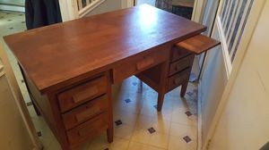 100 year old handmade desk for Sale in Raleigh, NC